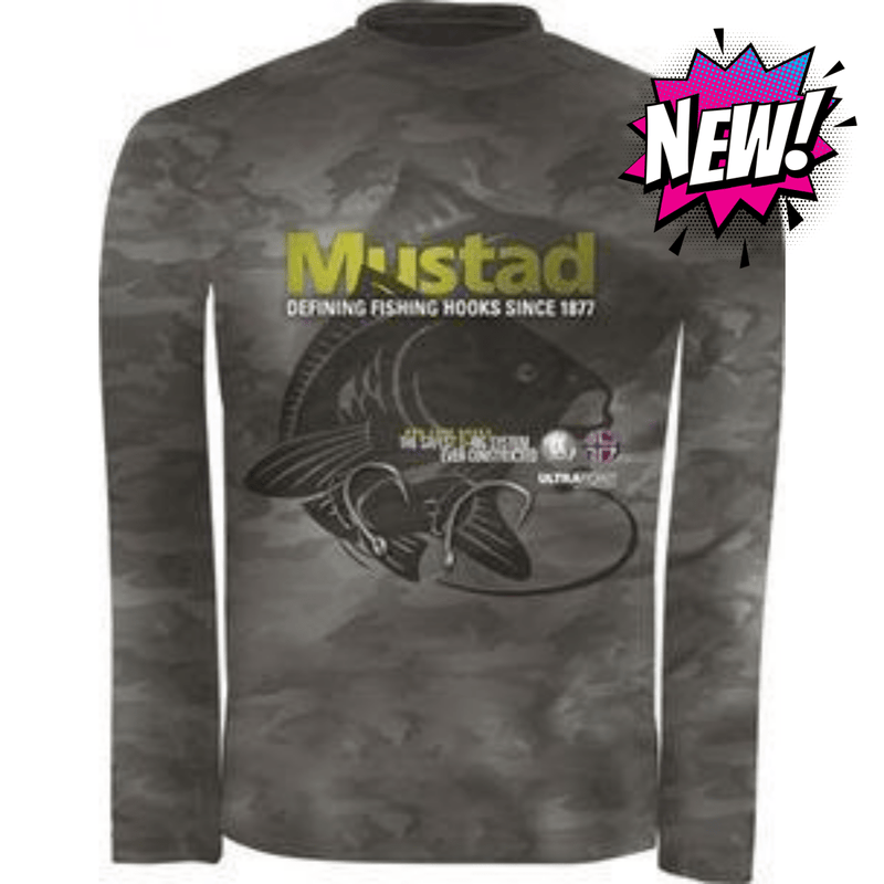Mustad - Day Perfect Shirt BBS CAMO, Clothing, Mustad, Cabral Outdoors - Cabral Outdoors