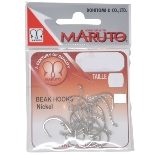 MARUTO MS 4320 Beak Hook nickel, Hooks, Maruto, Cabral Outdoors - Cabral Outdoors