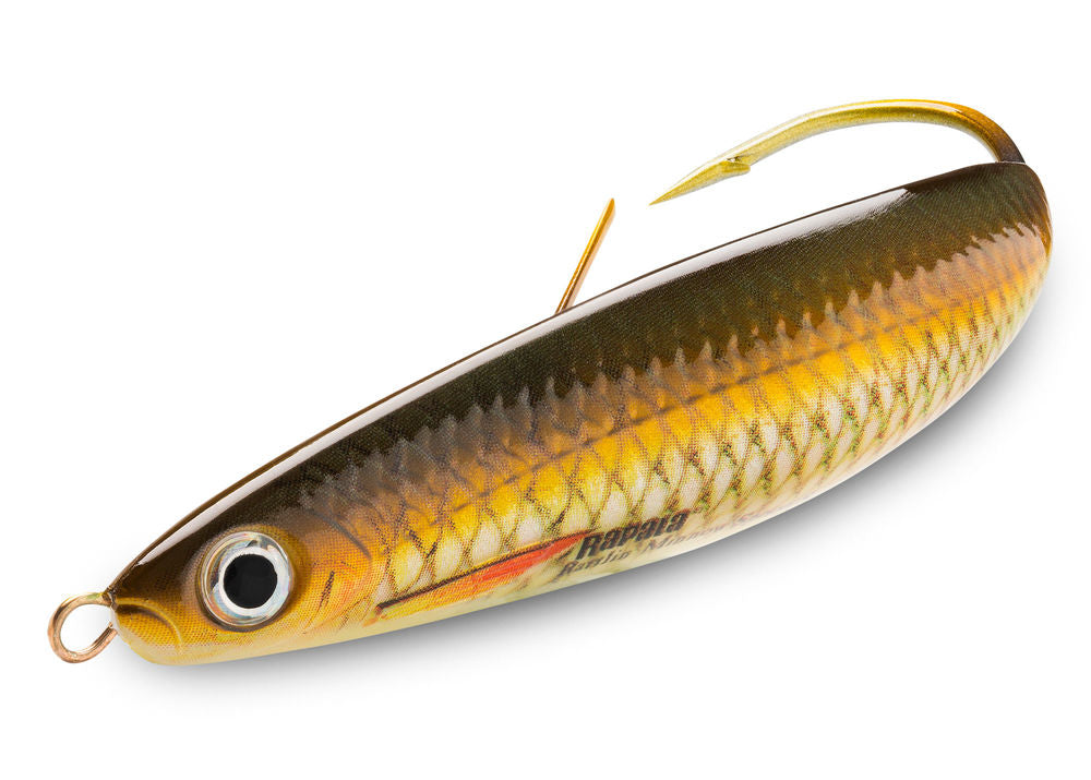 Rapala Rattlin Minnow Spoon 8cm/16g, 1pcs/pkt, Hard Baits, Rapala, Cabral Outdoors - Cabral Outdoors