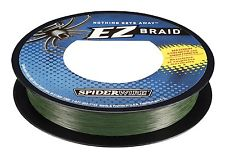 SPIDERWIRE EZ BRAID LINE 110 YD/100M MOSS GREEN, Braided Line, Spider Wire, Cabral Outdoors - Cabral Outdoors