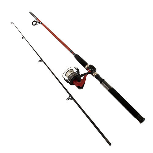SHAKESPEARE WILDCAT 7FT-8FT COMBO SPINNING ROD & REEL, Spinning Rods, Shakespeare, Cabral Outdoors - Cabral Outdoors