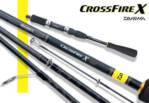 "Daiwa CROSSFIRE X 7"" Spinning Rod, Spinning Rods, Daiwa, Cabral Outdoors - Cabral Outdoors"