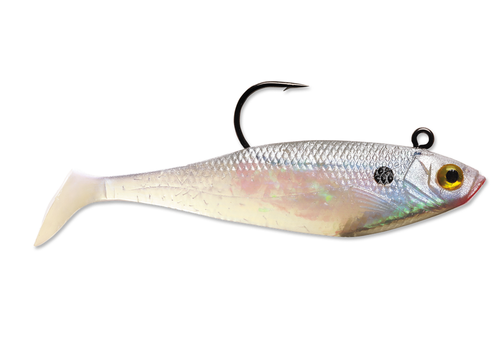 Storm WildEye® Swim Shad 8cm/10g, 3pcs/pkt, Soft Bait, Storm, Cabral Outdoors - Cabral Outdoors
