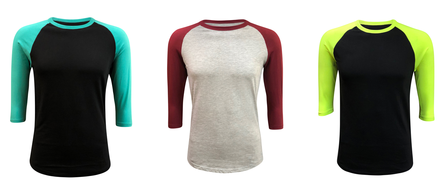 d7d21e1e4 ILTEX Apparel - Wholesale Raglan T-Shirts Houston, USA