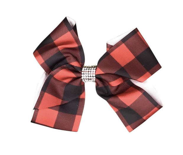 ILTEX Apparel Accessory Bow - Plaid Glitter
