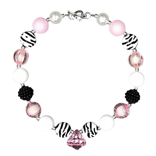 ILTEX Apparel Accessory Bubblegum Necklace - Diamond Black