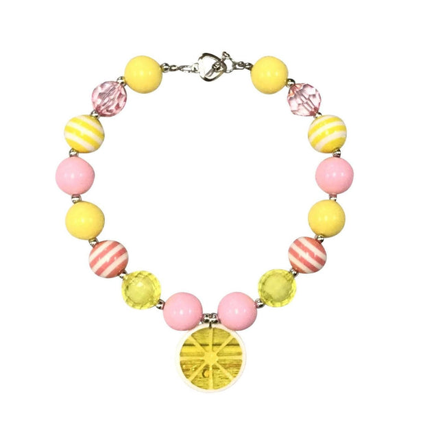 ILTEX Apparel Accessory Bubblegum Necklace - Lemon Light
