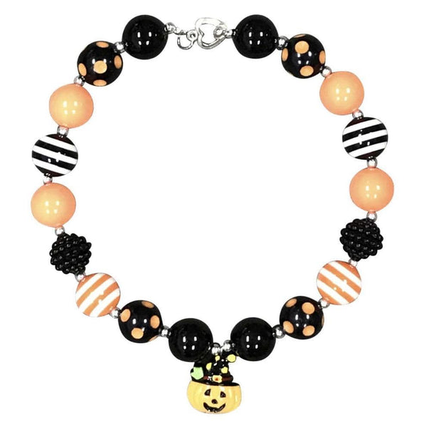 ILTEX Apparel Accessory Bubblegum Necklace - Pumpkin