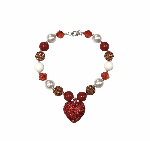 ILTEX Apparel Accessory Necklace - Heart White