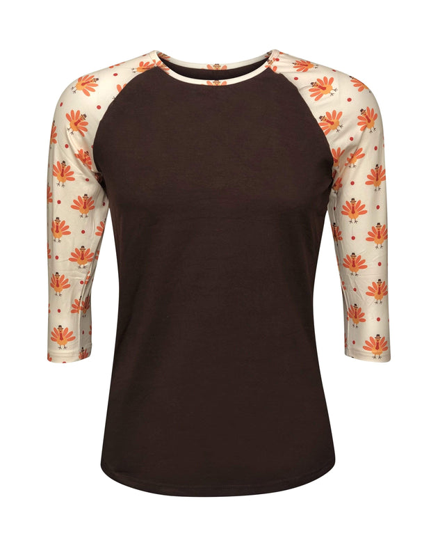 ILTEX Apparel Adult Clothing Small Turkey Thanksgiving Mommy & Me Top