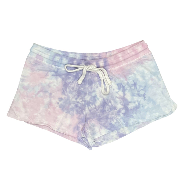 ILTEX Apparel Adult Clothing Tie Dye Shorts Bubble Berry - Adult