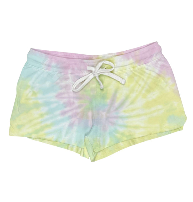 ILTEX Apparel Adult Clothing Tie Dye Shorts Dreamsicle - Adult