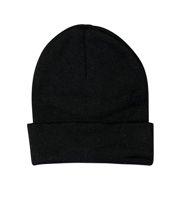 ILTEX Apparel Beanie Plain Black