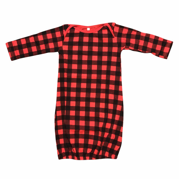 ILTEX Apparel Buffalo Plaid Toddler Gown