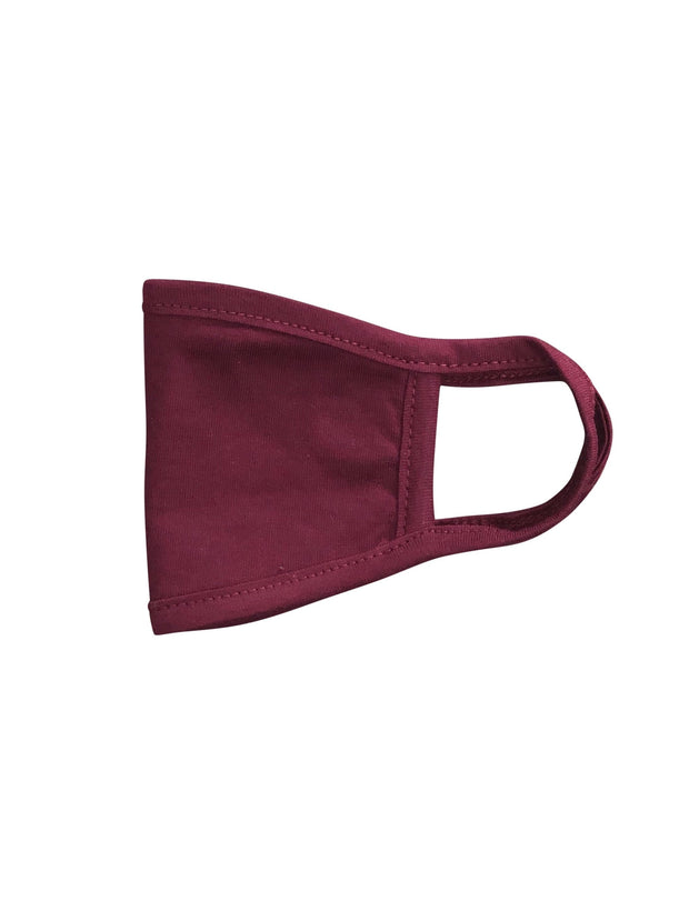 ILTEX Apparel Burgundy Face Cover Kids