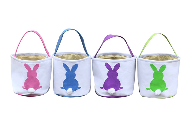 ILTEX Apparel Easter Bunny Cotton Tail Basket