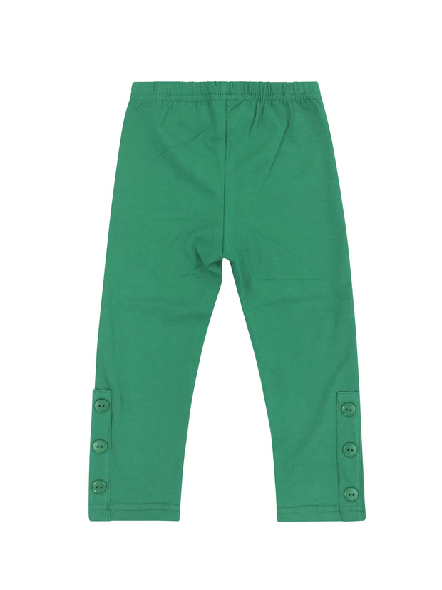 ILTEX Apparel Kids Clothing 2-3 years / Green Kids Long Pants with Ankle Buttons