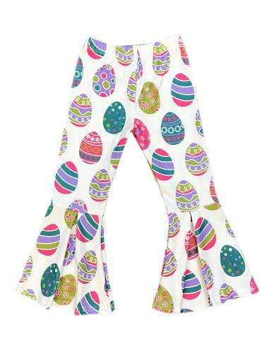 ILTEX Apparel Kids Clothing Bell Bottom Easter Egg Pants