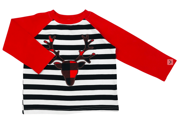 ILTEX Apparel Kids Clothing Christmas Reindeer Shirt Kids