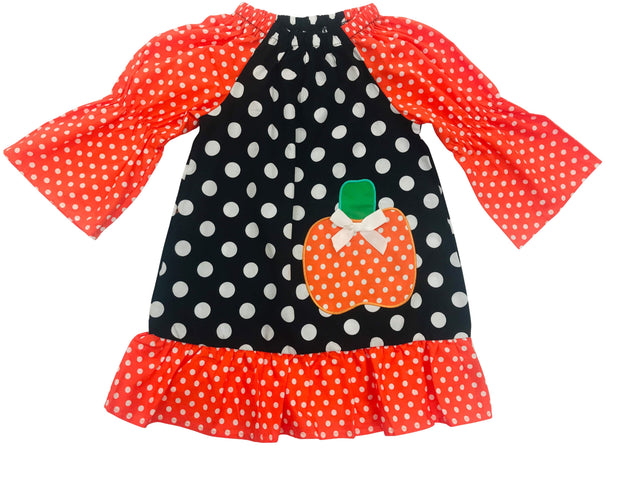 ILTEX Apparel Kids Clothing Halloween Polka Dot Dress Kids