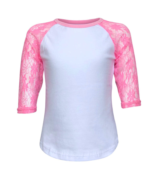 ILTEX Apparel Kids Clothing Lace Sleeves Top Kids