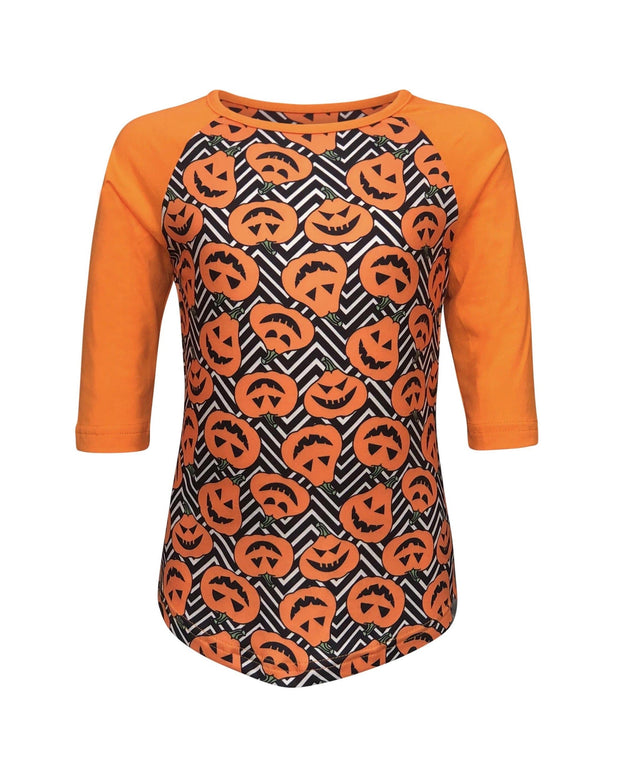 ILTEX Apparel Kids Clothing Pumpkin Body Orange Halloween Top Kids