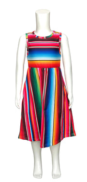 ILTEX Apparel Kids Clothing Serape Maxi Dress Kids