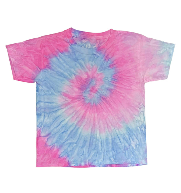 ILTEX Apparel Kids Clothing Tie Dye Marshmellow T-Shirt - Youth