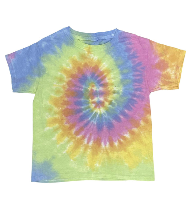 ILTEX Apparel Kids Clothing Tie Dye Pastel T-Shirt - Youth