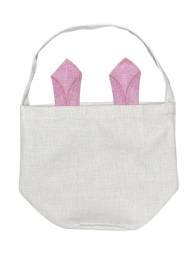 ILTEX Apparel Pink Easter Bunny Ear Baskets Sublimation