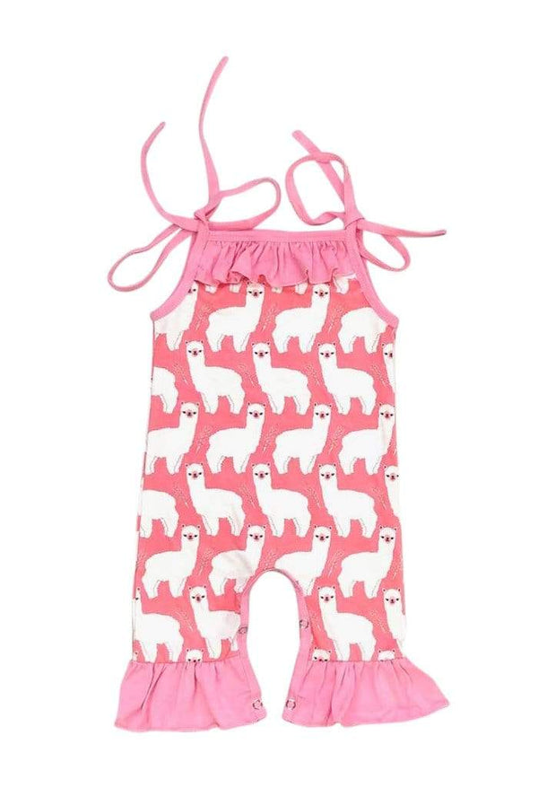 ILTEX Apparel Romper Romper Strings Kids Llama