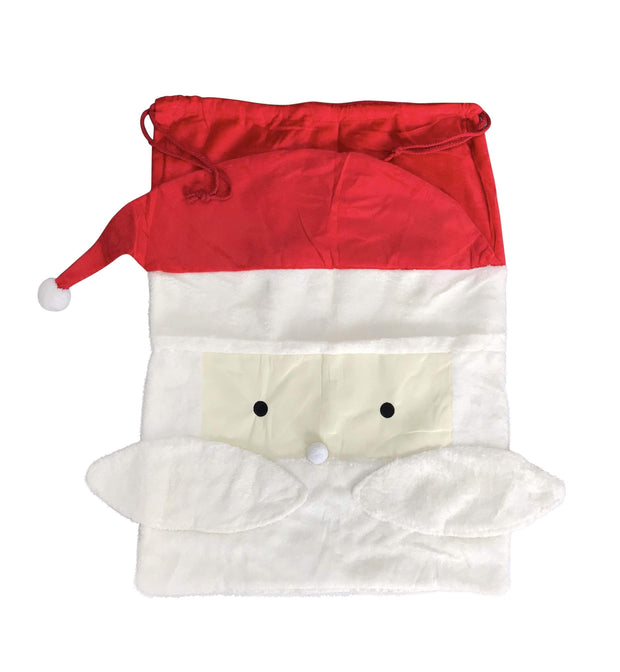 ILTEX Apparel Santa Sack - Fluffy Santa