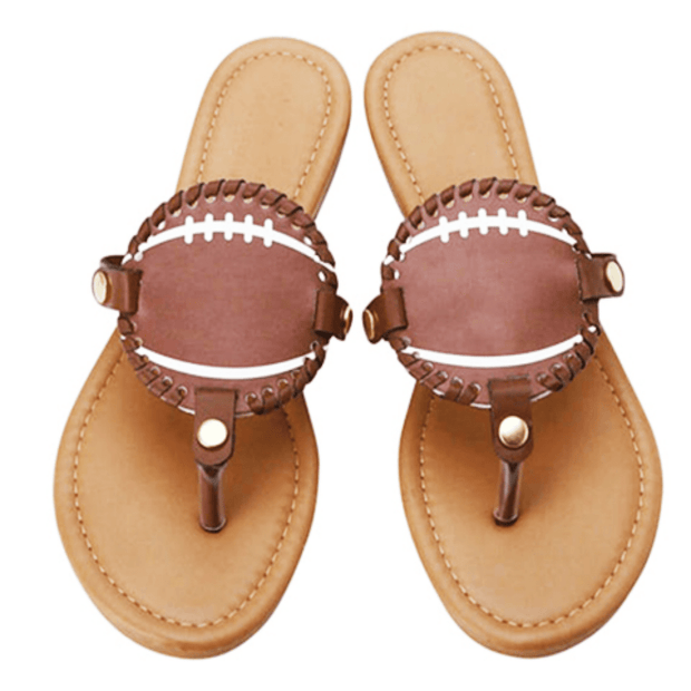 ILTEX Apparel Shoes Sandals Women Football Flip Flops