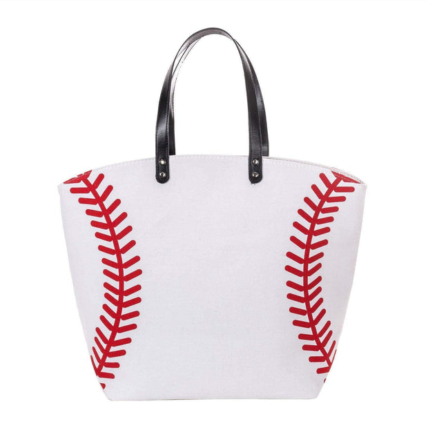 ILTEX Apparel Tote Bag Baseball Canvas Tote Bag