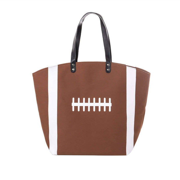 ILTEX Apparel Tote Bag Football Canvas Tote Bag
