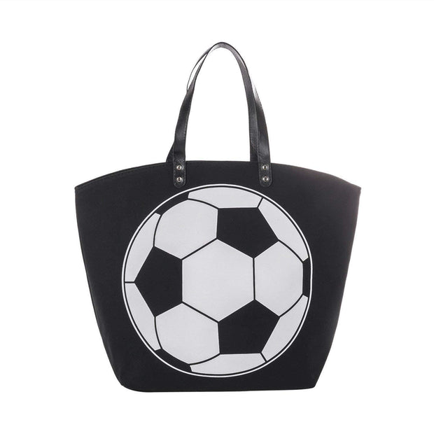 ILTEX Apparel Tote Bag Soccer Canvas Tote Bag