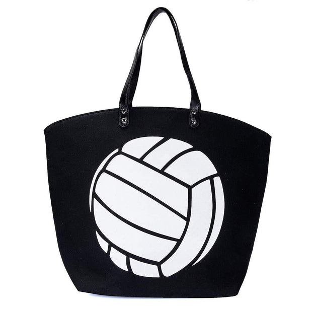 ILTEX Apparel Tote Bag Volleyball Canvas Tote Bag