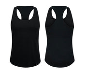 ILTEX Apparel Women's Clothing Small / Black Racerback Basic Women Tank Top