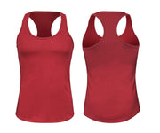 ILTEX Apparel Women's Clothing Small / Cardinal Racerback Basic Women Tank Top