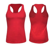 ILTEX Apparel Women's Clothing Small / Red Racerback Basic Women Tank Top