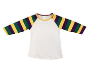 ILTEX T-Shirts Kids Clothing Mardi Gras White Top Kids