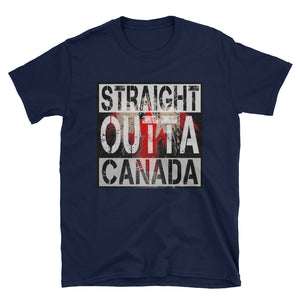 straight outta canada Unisex T-Shirt