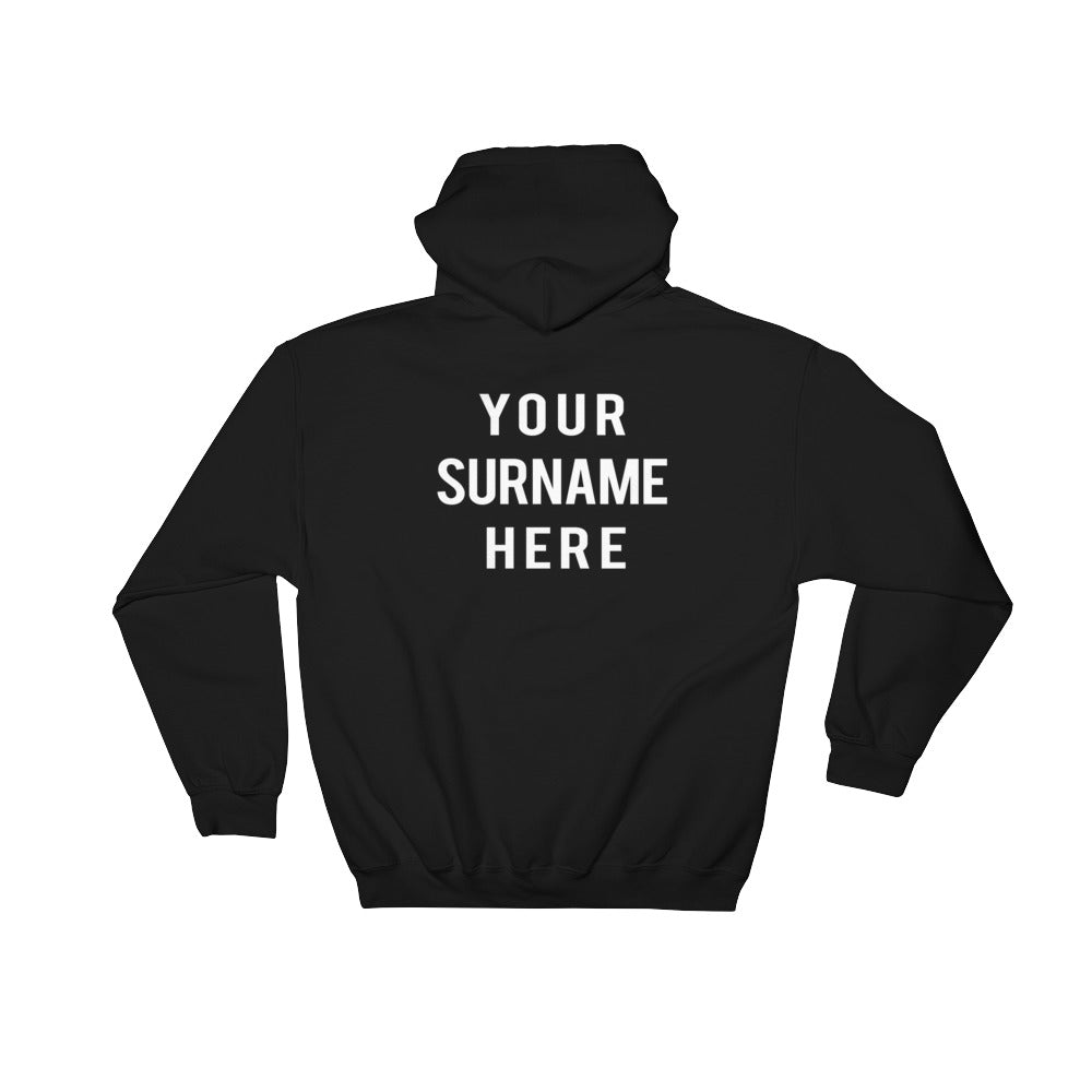 Hooded Sweatshirt (Front and Back print)
