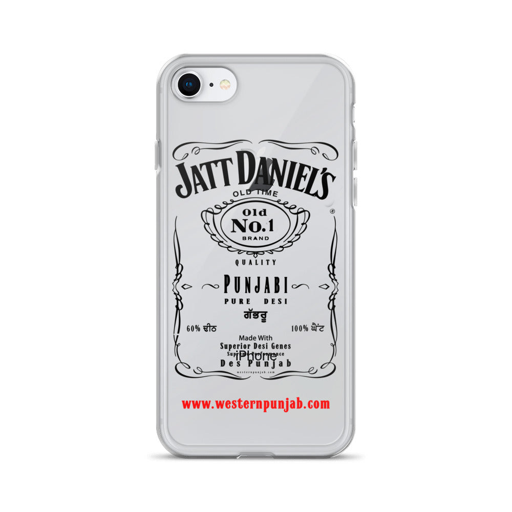 Jatt Daniels iPhone Case