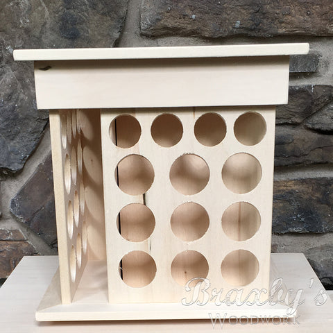 Small - Rotating Essential Oil Display Rack
