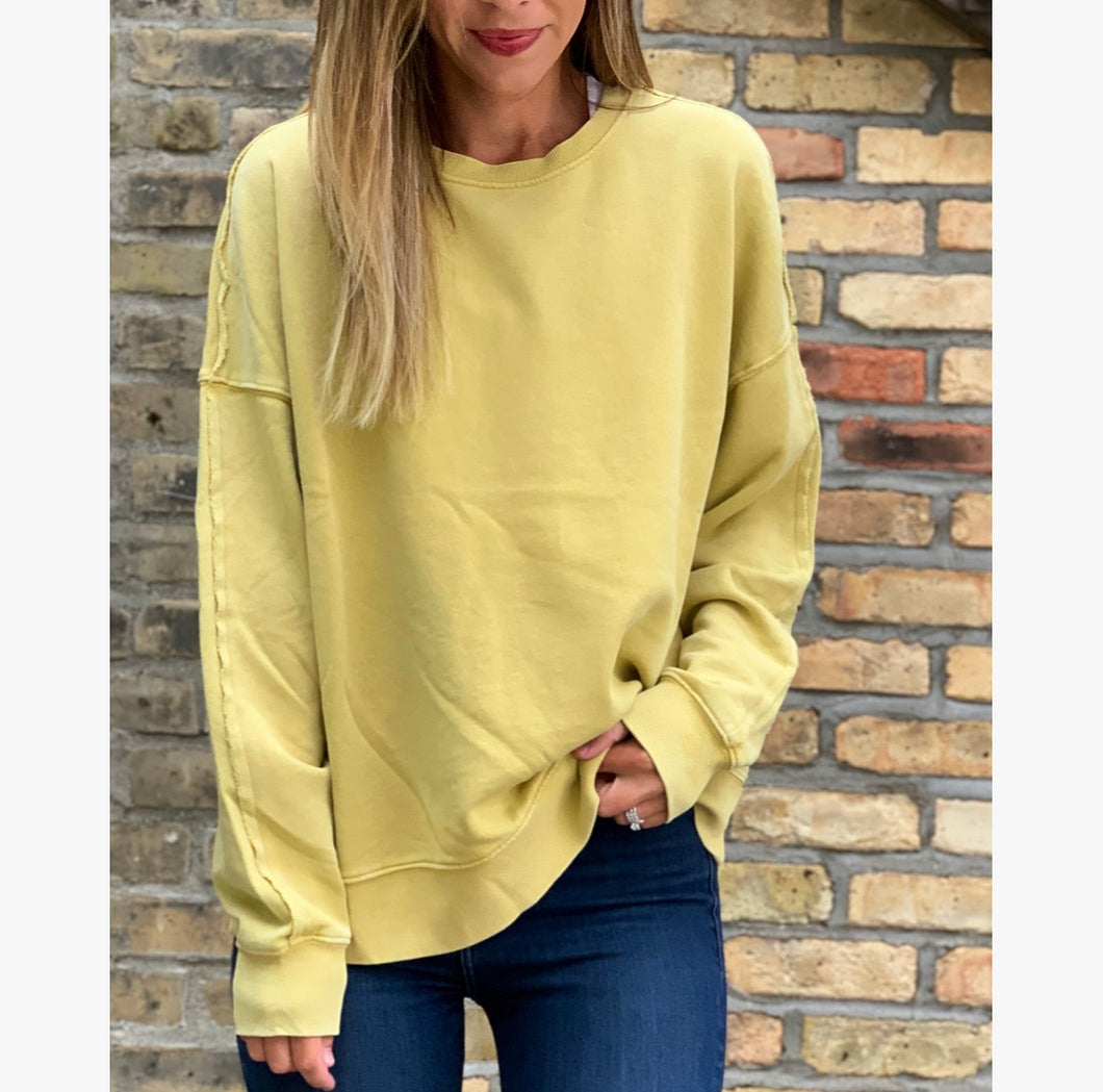 Kyro Gold Sweatshirt