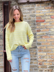 Lemon Sweater