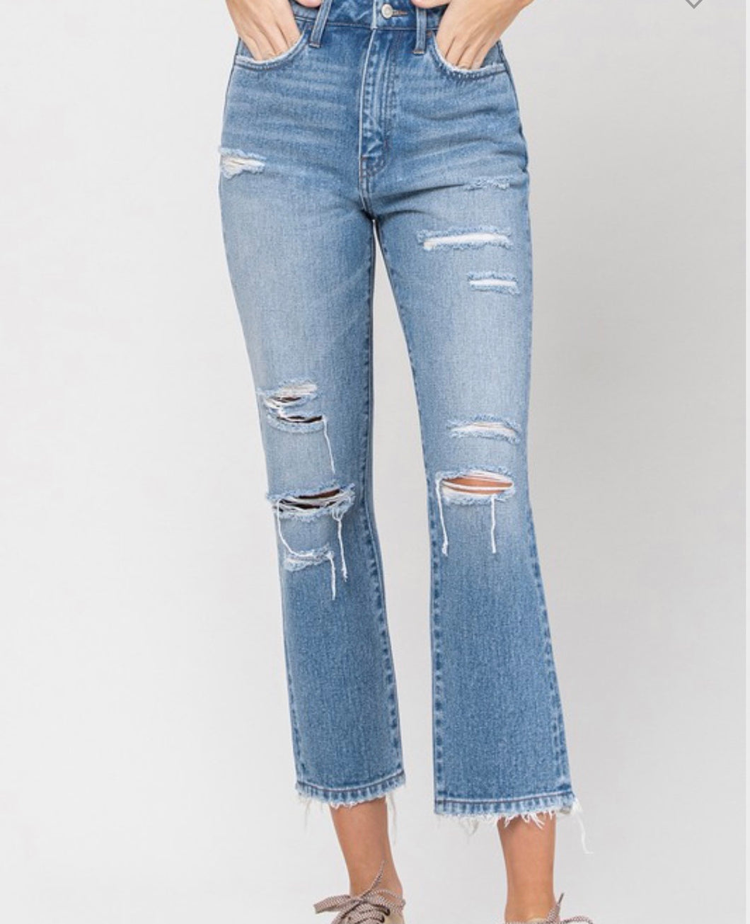 Weekend Straight Jean