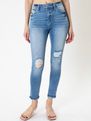 High Rise Light Jeans