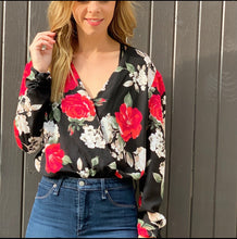Holiday Floral Bodysuit